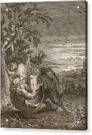 Tithonus, Auroras Husband, Turned Into A Grasshopper Acrylic Print
