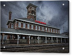 Titletown Brewing Co Acrylic Print by Thomas Zimmerman