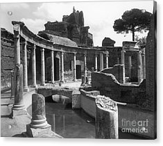 Tivoli Hadrian's Villa Acrylic Print by Granger