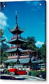 Tivoli Pagoda 1953 Acrylic Print by Cumberland Warden