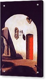 Acrylic Print featuring the painting Tlaquepaque by Rick Fitzsimons