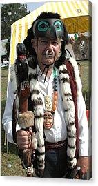 Tlinkit Northwest American Indians Acrylic Print by Bill Marder