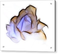 To A Rose Acrylic Print