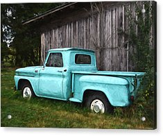 To Be Country - Vintage Vehicle Art Acrylic Print