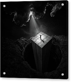 To Escape The Void Acrylic Print