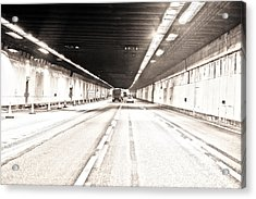 Acrylic Print featuring the photograph To Felixstowe Bound by Steven Poulton