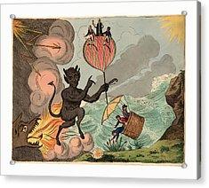 To His Royal Highness Fredrick Duke Of York Acrylic Print by English School
