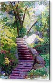 To Linden Terrace-fort Tryon Park Acrylic Print