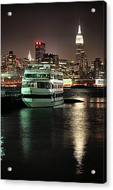 To Nyc Acrylic Print by JC Findley