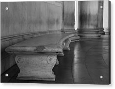 To Quietly Sit And Reflect Acrylic Print by Andrew Pacheco