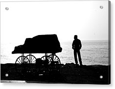 To Sea... Acrylic Print by Lee Stickels