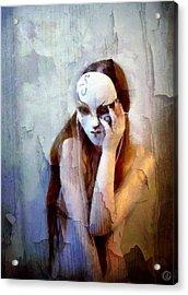 To Show The Body But Hide The Face Acrylic Print by Gun Legler