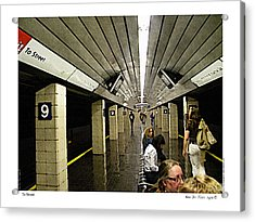 Acrylic Print featuring the photograph To Street by Kenneth De Tore