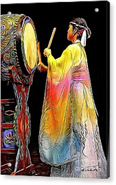 Beat Of The Drum Acrylic Print by Andrea Auletta