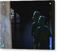 Acrylic Print featuring the photograph To The Light by Lin Haring