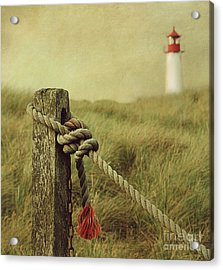 To The Lighthouse Acrylic Print by Hannes Cmarits