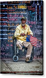 To Those Who Served Acrylic Print