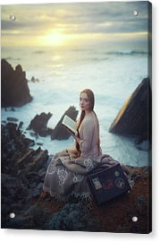 To Travel Is To Be Born And To Die At Any Moment.. Acrylic Print