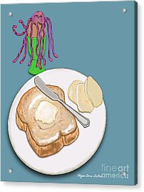 Toast And Jelly Acrylic Print
