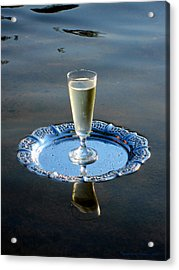 Acrylic Print featuring the photograph Toast To Life by Leena Pekkalainen