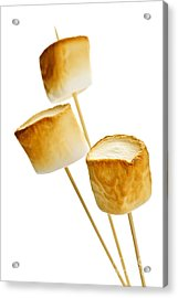 Toasted Marshmallows Acrylic Print by Elena Elisseeva