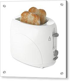 Toaster With Toast Acrylic Print