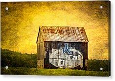 Tobacco Barn In Kentucky Acrylic Print by Paul Freidlund