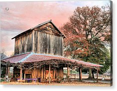 Tobacco Road Acrylic Print by JC Findley