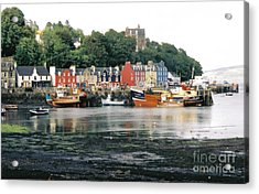 Tobermory Harbour Acrylic Print by Mark Bowden