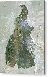 Tocantins, Brazil, Satellite Image Acrylic Print by Science Photo Library