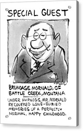 Today's Special Guest Brundage Mornald Acrylic Print