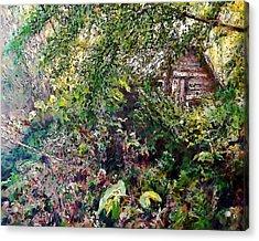 Tod's Shack Acrylic Print