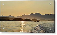 Tofino Morning On The Pacific Ocean Acrylic Print by Jan Lyall Photography