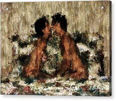 Together Acrylic Print by Kurt Van Wagner
