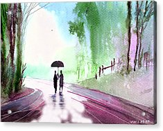 Togetherness Acrylic Print by Anil Nene