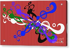 Togetherness Acrylic Print by Tina M Wenger