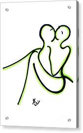 Toi Et Moi Acrylic Print