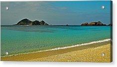 Aharen Beach, Tokashiki-jima, Okinawa Acrylic Print