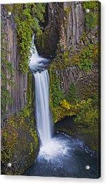 Toketee Falls Acrylic Print
