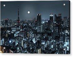 Tokyo 14 Acrylic Print by Tom Uhlenberg