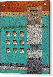 Tokyo Crossing Acrylic Print