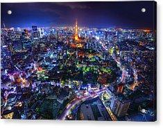 Tokyo Dreamscape Acrylic Print