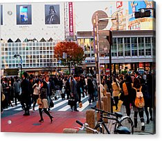 Acrylic Print featuring the photograph Tokyo by Julia Ivanovna Willhite