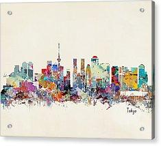 Tokyo Skyine Acrylic Print