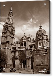 Toledo Cathedral Acrylic Print