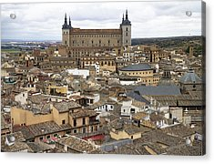 Acrylic Print featuring the photograph Toledo Spain Cityscape by Nathan Rupert