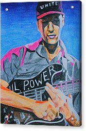 Tom Morello Acrylic Print by Jeremy Moore