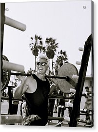 Tom Platz In Los Angeles Acrylic Print