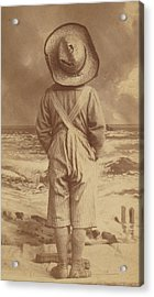 Tom Sawyer At The Beach Acrylic Print by Paul Ashby Antique Image