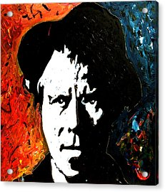 Tom Waits Acrylic Print